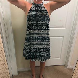 EUC- Waverly Grey sleeveless dress sz large